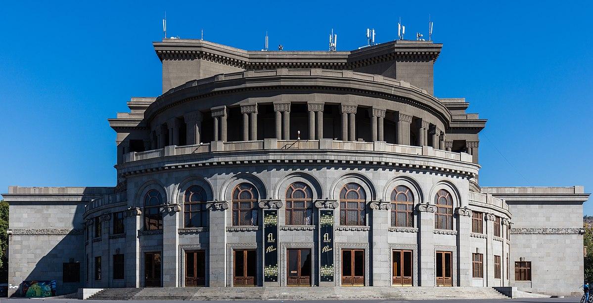 آشنایی با خانه اپرا و تئاتر در ایروان ارمنستان