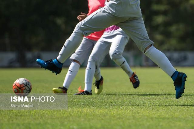 جشنواره گل دختران فوتبالیست ایران در اولین بازی مقدماتی قهرمانی آسیا