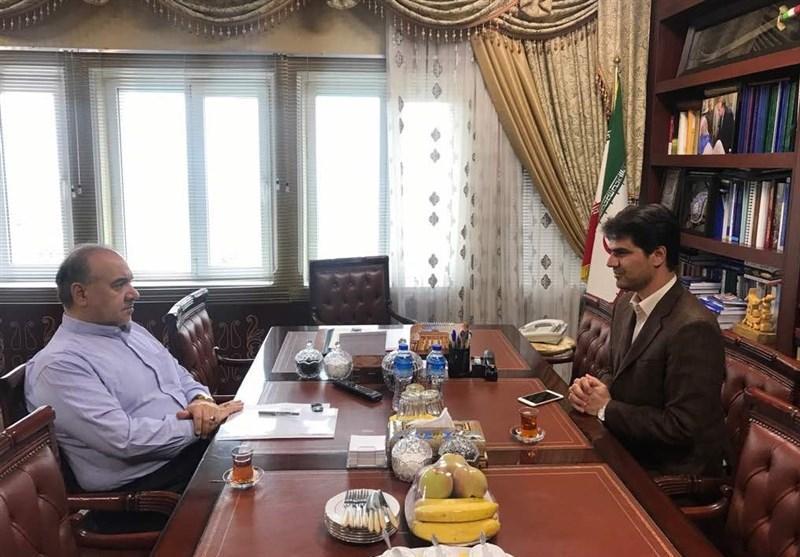 دیدار رئیس فدراسیون گلف با وزیر ورزش و جوانان