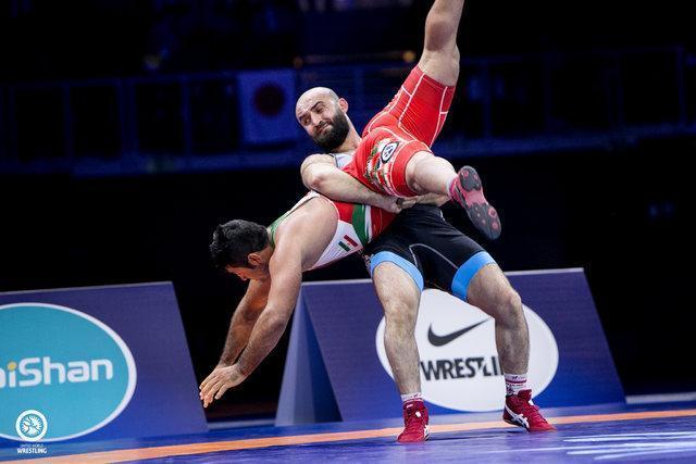سعید عبدولی پنجم شد، دستان خالی کشتی فرنگی ایران در 4 وزن نخست قهرمانی دنیا