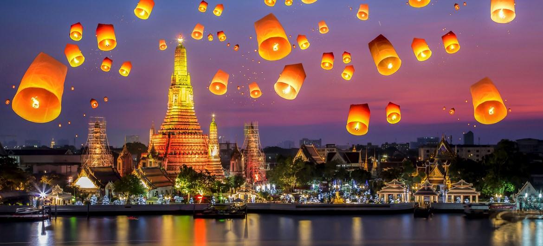 زیباترین شهرهای تایلند