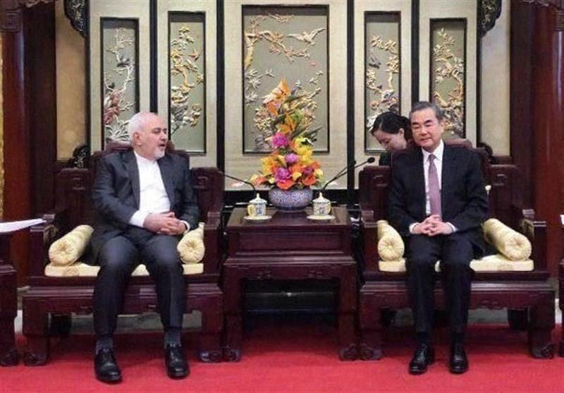 دیدار ظریف با همتای چینی در پکن