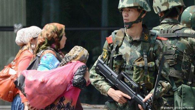 ابراز نگرانی انگلیس نسبت به وضعیت اویغورها در چین