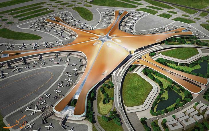 مراحل ساخت فرودگاه دکسینگ پکن، بزرگ ترین فرودگاه دنیا!