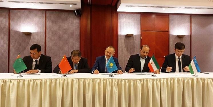 ازبکستان به کریدور ریلی چین-قزاقستان-ترکمنستان-ایران پیوست