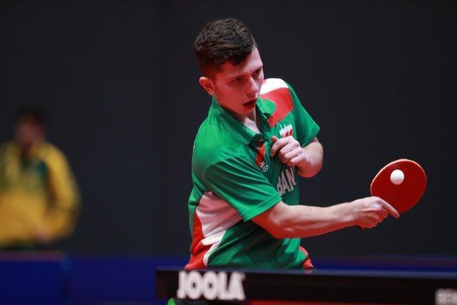 صعود احمدیان به یک چهارم نهایی جدول زیر 21 سال مسابقات اسلوونی