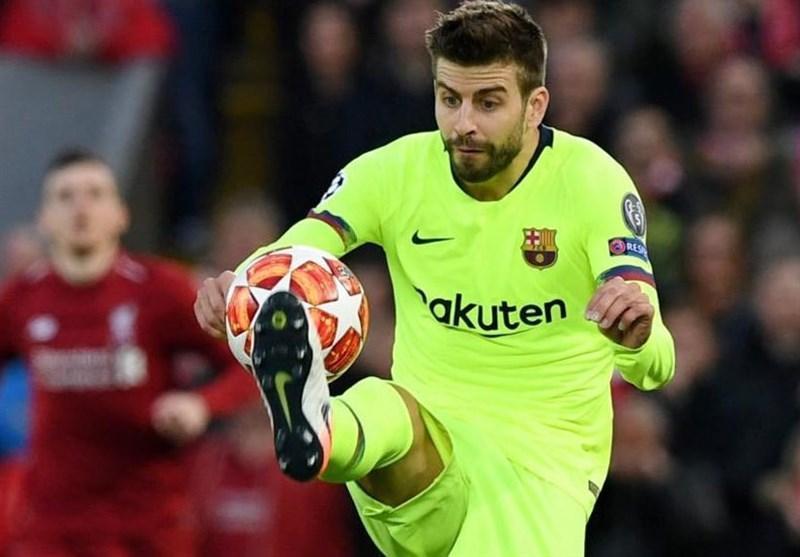 اعتراف پیکه درباره باخت سنگین بارسلونا اسپانیا مقابل لیورپول