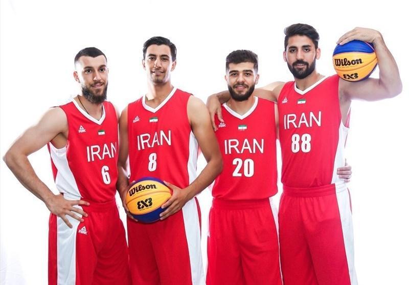 2 پیروزی برای بسکتبال 3 نفره ایران در کاپ آسیا
