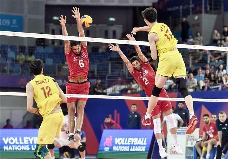 لیگ ملت های والیبال، شاگردها مچ لوزانو را خواباندند، چین حرفی برای گفتن نداشت