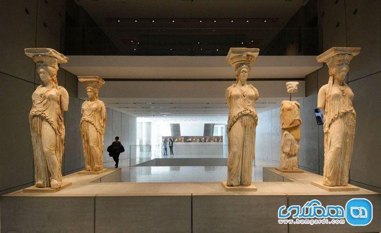 آکروپلیس، خانه گنج های یونانی