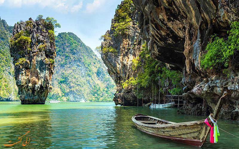 خلیج فانگ نگا، دنیایی از شگفتی های طبیعی در تایلند