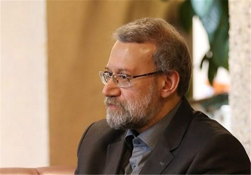 لاریجانی درگذشت پدر رئیس مجلس عمان را تسلیت گفت
