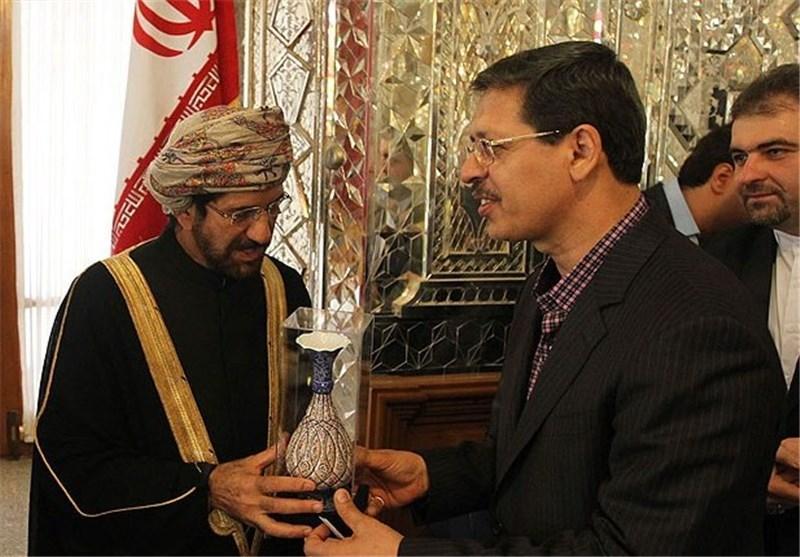 معاون اجرایی مجلس با رئیس مجلس عمان دیدار کرد