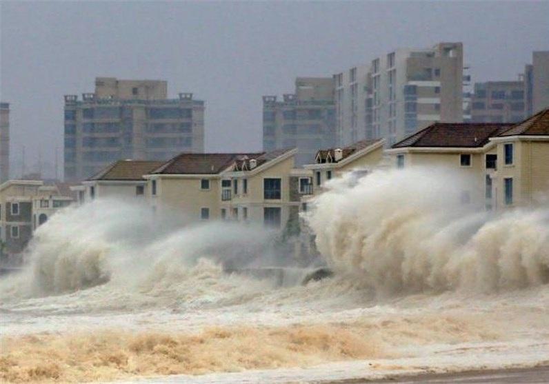 طوفان در شرق چین 8 قربانی گرفت