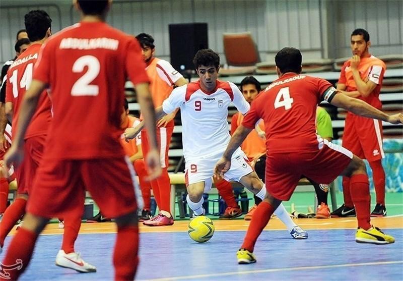 رجحان مقتدرانه ایران مقابل اندونزی در نیمه نخست