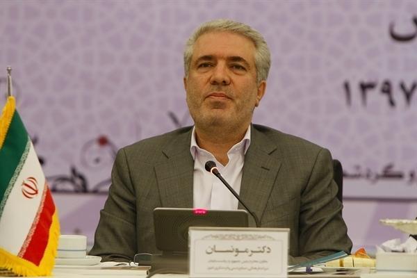 مونسان اطلاع داد اجرای 1900 پروژه در حوزه زیرساخت های گردشگری