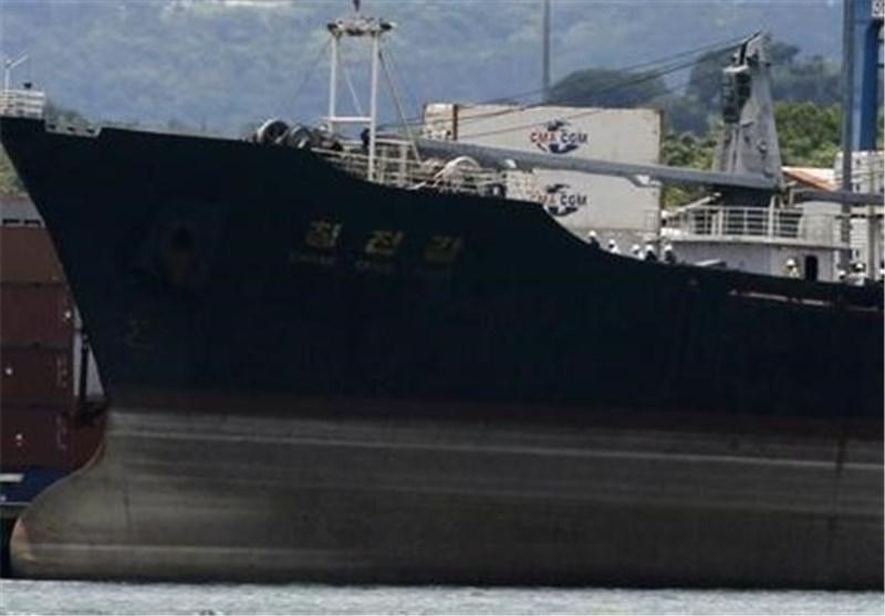 گارد ساحلی یونان یک کشتی حامل اسلحه را توقیف کرد