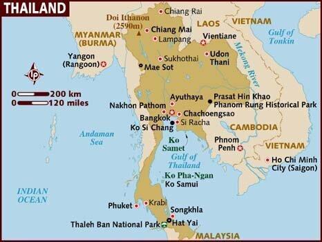 تایلند پایتخت خود را تغییر می دهد