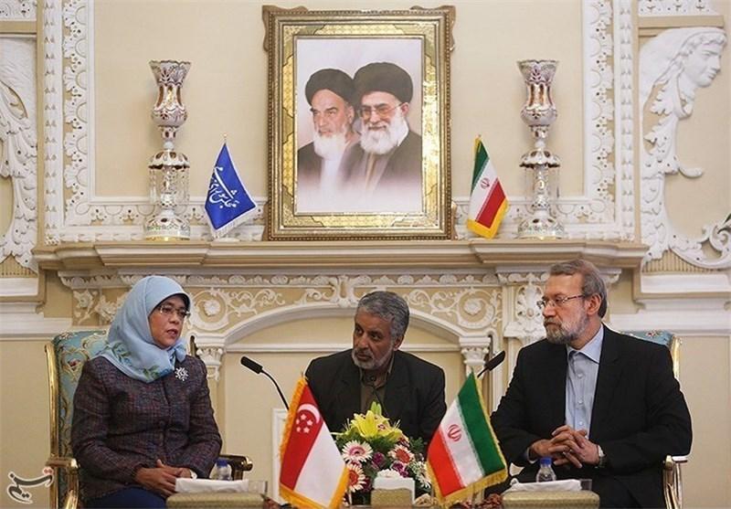 ایران و سنگاپور از ظرفیت های خوبی برای گسترش مناسبات در عرصه های مختلف برخوردارند