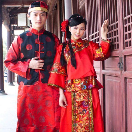 داستان جالب لباس چینی ها!