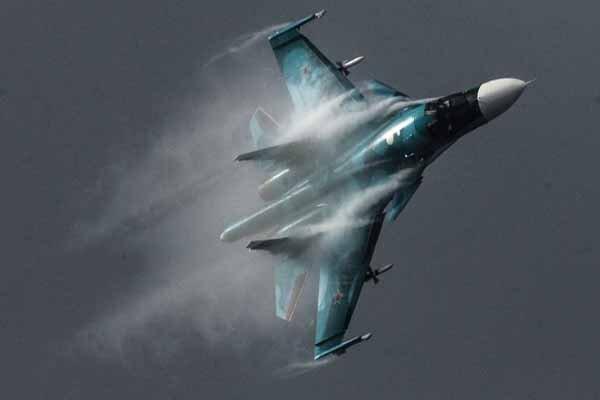 2 جنگنده سوخو 34 روسیه با یکدیگر برخورد کردند