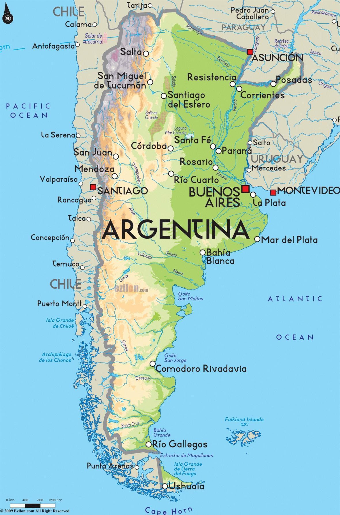 گرسنگان، پل پیروزی کاندیداهای آرژانتینی