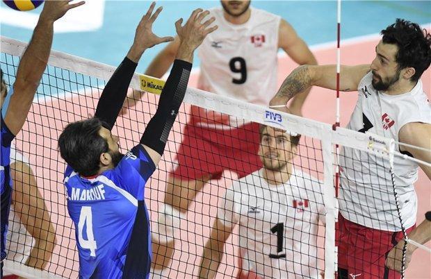 شکست تیم ملی والیبال ایران برابر کانادا، اتفاق هفته اول تکرار شد!