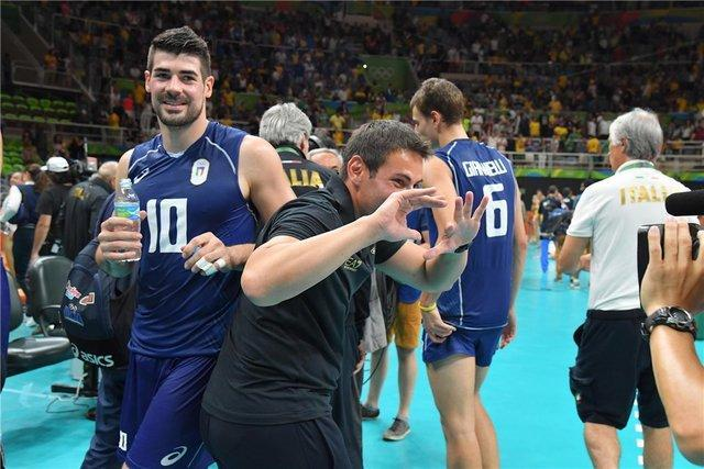 سرمربی والیبال ایتالیا: شایسته پیروزی بر ایران بودیم