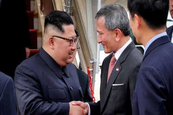 رهبر کره شمالی با نخست وزیر سنگاپور دیدار کرد