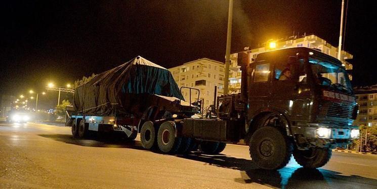ارتش ترکیه عملیات زمینی در شمال سوریه را شروع کرد