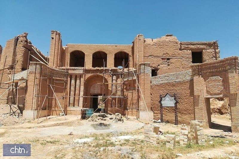 نقشه محدوده عرصه و حریم 2 اثر تاریخی تکاب به استاندار آذربایجان غربی ابلاغ شد