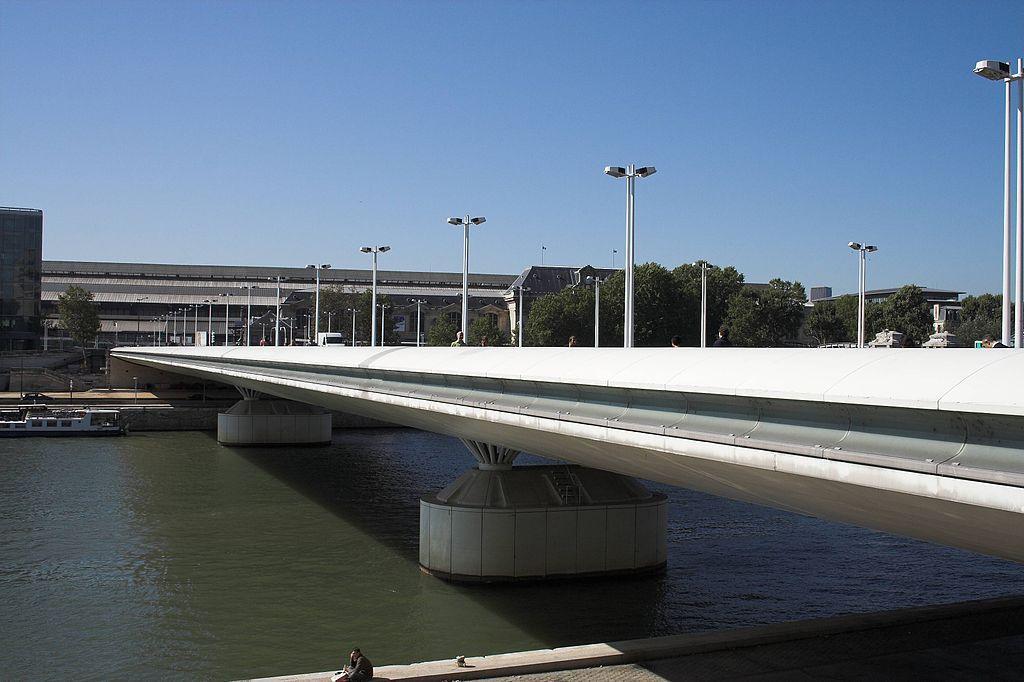 پل شارل دوگل و رویال بر روی رود سن