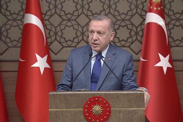 اردوغان: احدی نباید از حضور ترکیه در منطقه ناراحت باشد