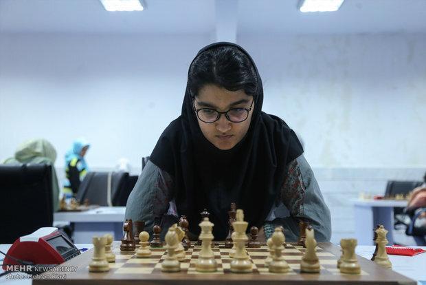 پیروزی مبینا علی نسب مقابل حریف هندی در مسابقات شطرنج اسپانیا