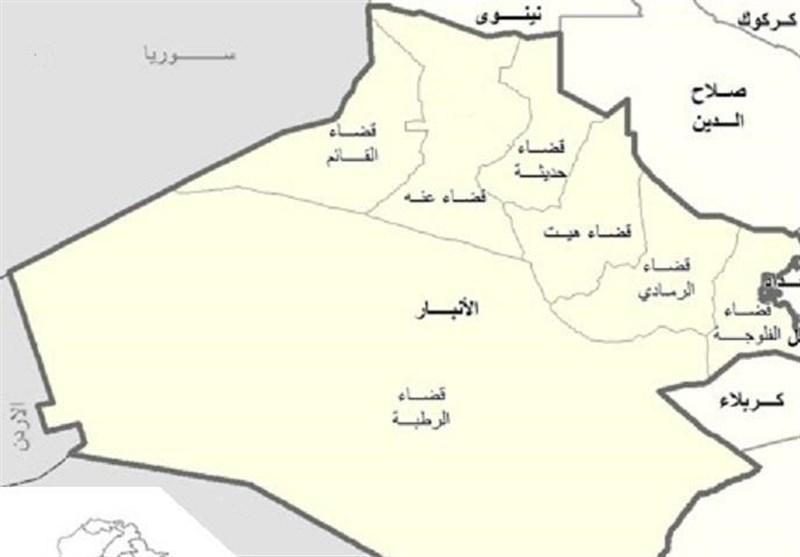 حمله موشکی به پایگاه نیروهای آمریکایی در الأنبار عراق