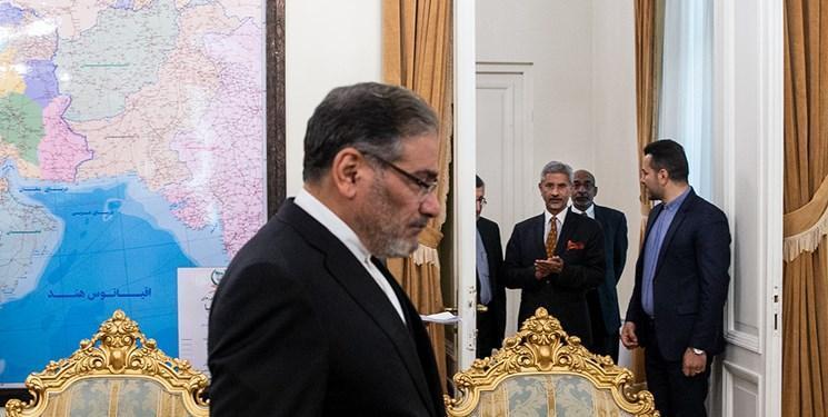 وزیر خارجه هند با شمخانی ملاقات کرد