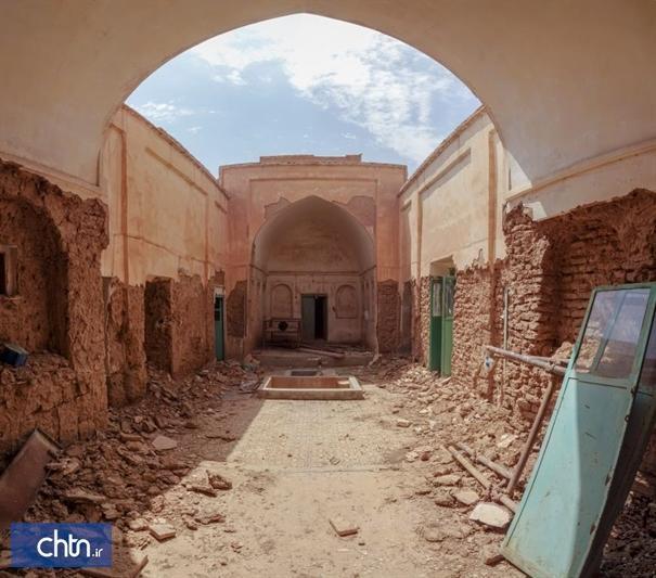 مرمت خانه تاریخی رحمانی در بشرویه