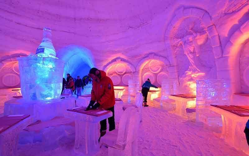 زمستانی رویایی در مونترال