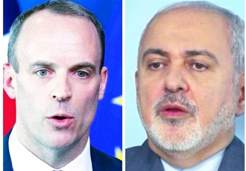 ظریف در تماس با همتای انگلیسی: لندن تحریم های ظالمانه آمریکا را به دلیل ملاحظات انسانی رعایت نکند