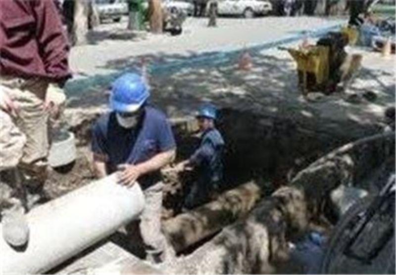 ترکیدگی لوله آب در قیام دشت خواب را از ساکنان 18 خانه گرفت