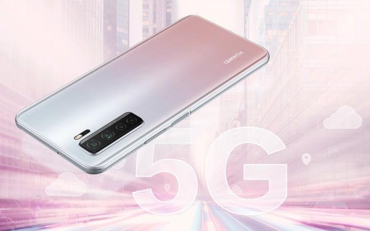 معرفی گوشی P40 lite 5G هوآوی