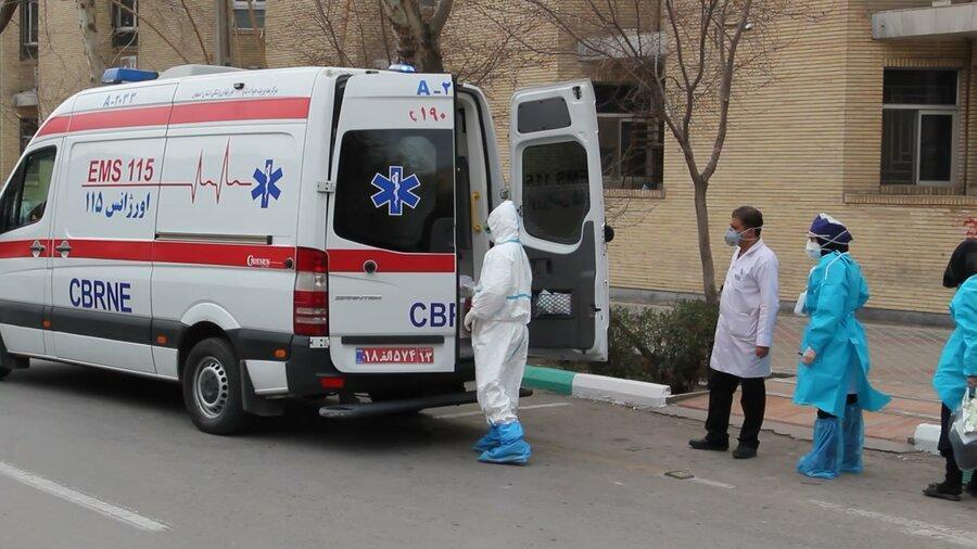 31 نفر از کارکنان اورژانس فارس به کرونا مبتلا شدند