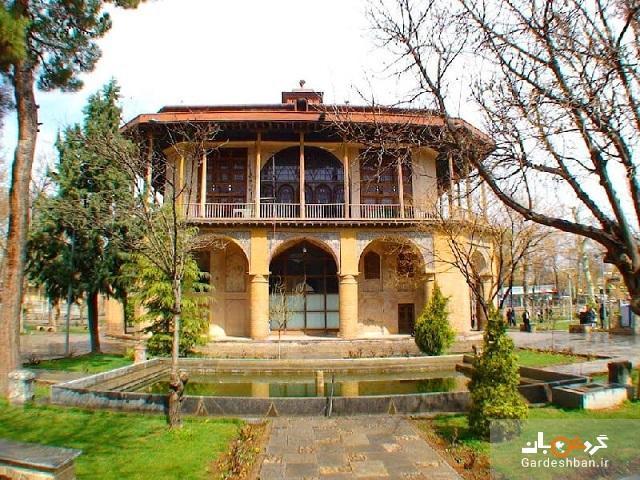 سفر در زمان با ورود به مجموعه باغ صفوی قزوین، عکس