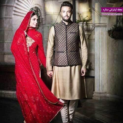 نمایی از فیلم سلام بمبئی با حضور بنیامین بهادری و همسرش شایلی