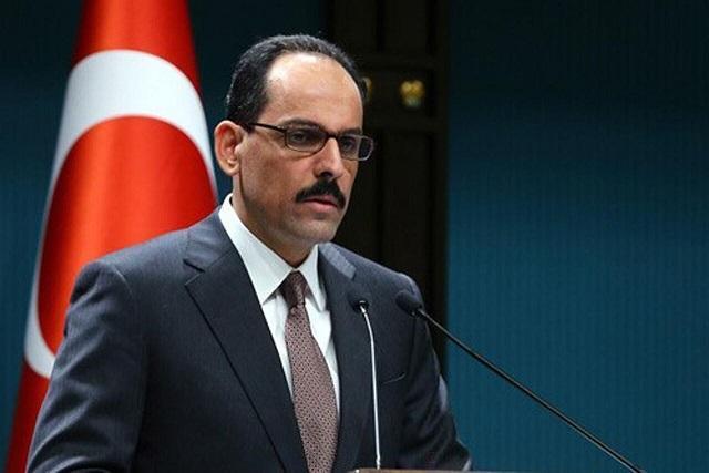 سخنگوی ریاست جمهوری ترکیه: مبارزه عاشورا زمان و مکان نمی شناسد