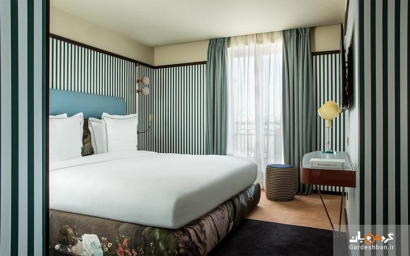 هتل دو فرایند پوینت پاریس از اقامتگاه های 4 ستاره شهر، تصاویر