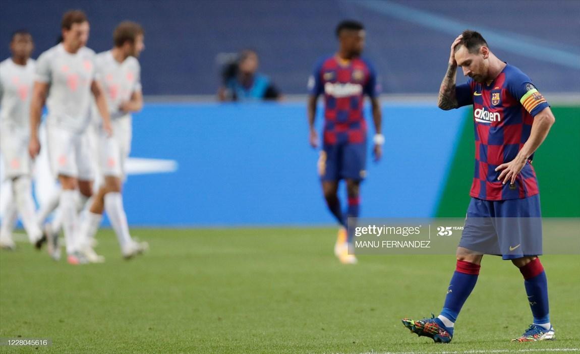 لیگ قهرمانان اروپا، اشتباهات سریالی مدافعان بارسا در شب تحقیرآمیز مسی و یارانش، بایرن با 8 گل برای مدعیان خط ونشان کشید