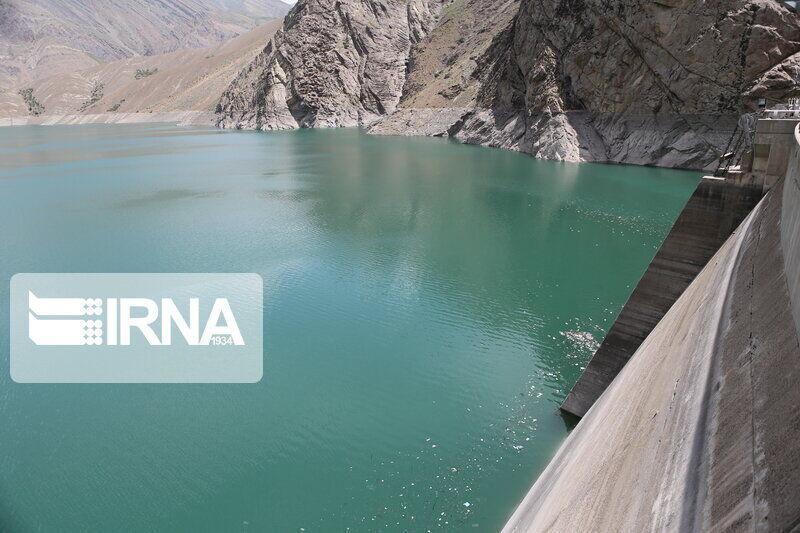 خبرنگاران حجم آب ذخیره شده در سد کوچری 144 میلیون متر مکعب است