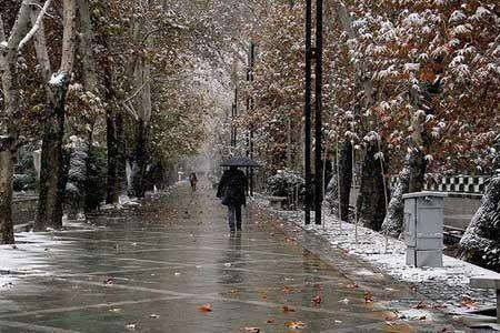 هشدار هواشناسی نسبت به بارش برف و باران از 25 آذر