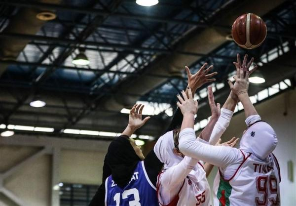 لیگ برتر بسکتبال بانوان، نارسینا به سختی گروه بهمن را شکست داد